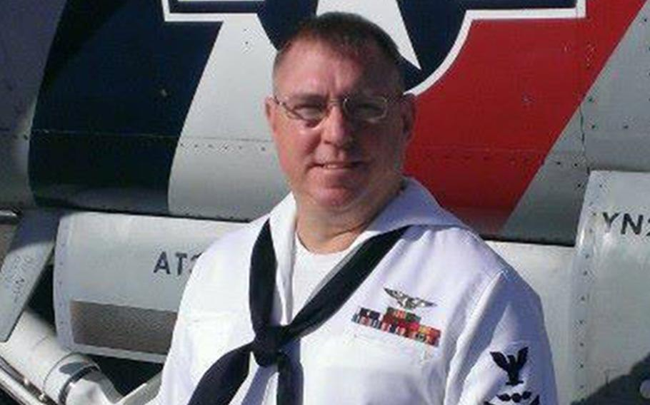 Petty Officer 1st Class Cory Weber died Oct. 3, 2021 in Las Vegas from complications related to COVID-19. He was 51.