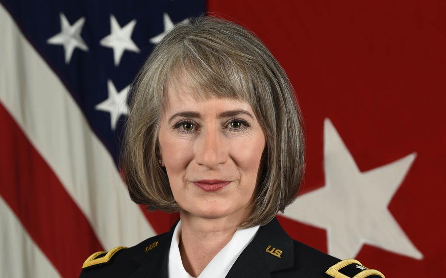Army Brig. Gen. Amy Johnston, formerly Hannah, was suspended as the service chief of public affairs pending an inspector general investigation for counterproductive and toxic leadership.