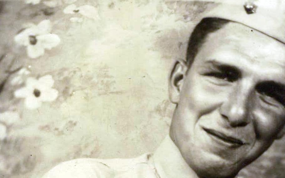 Marine Sgt. Harry Dininger was killed fighting near Naha City, Okinawa, on May 10, 1945.