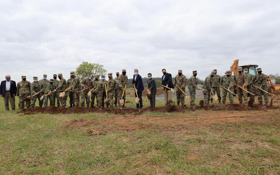 The Cherokee Nation and Oklahoma Air National Guard broke ground on the future site of homes for veterans, which will be part of the Cherokee Veterans Housing Initiative through the U.S. Department of Defense Innovative Readiness Training program