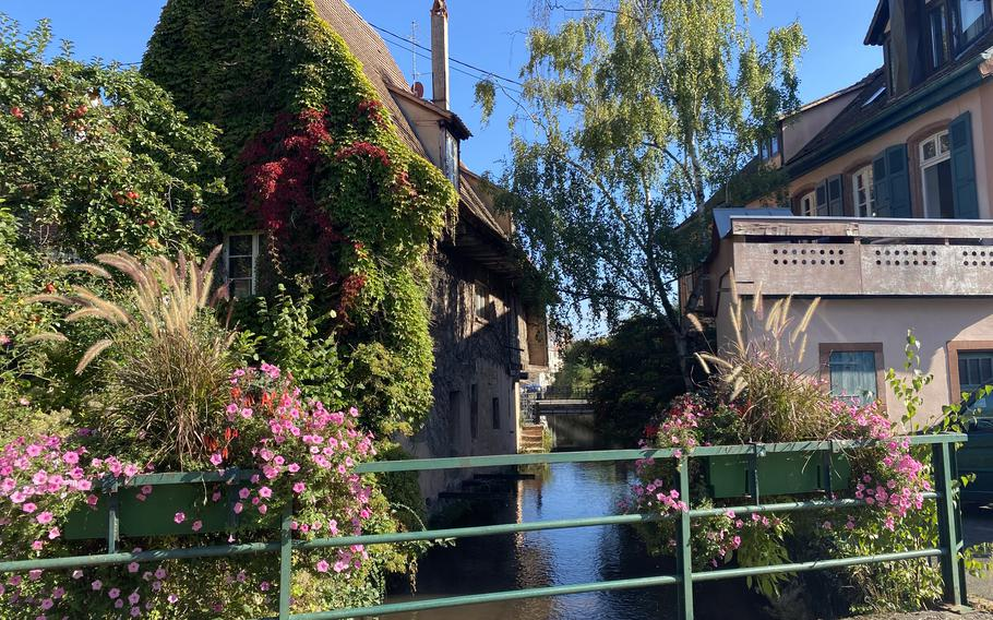 The Lauter River adds to the charm in picturesque Wissembourg, France.