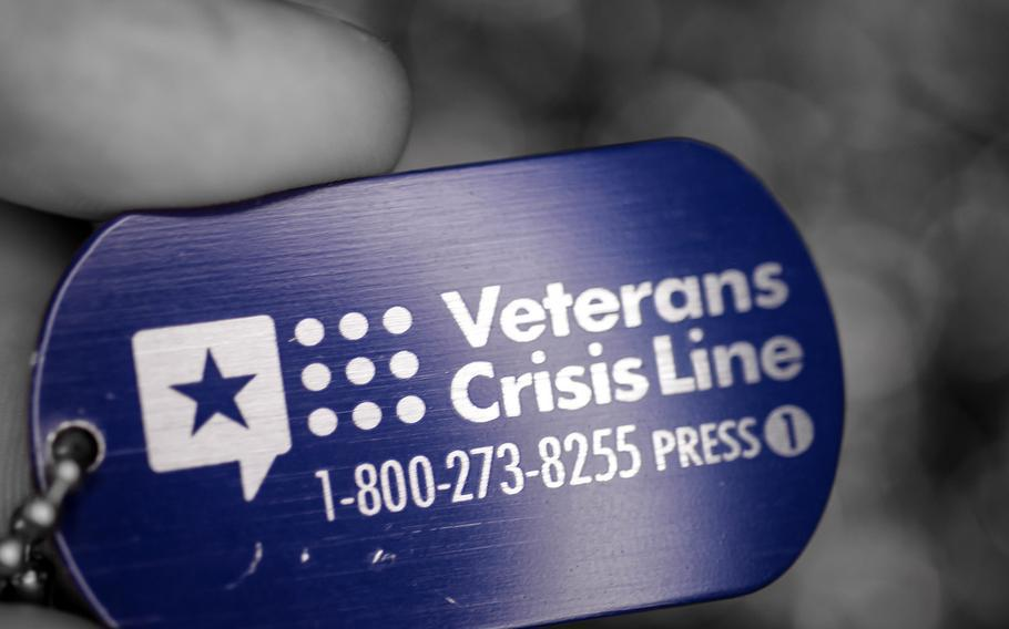 The Veterans Crisis Line has had an increase of texts, calls and online chats since mid-August when the Taliban took control of Afghanistan's capital Kabul and the crisis at the city's airport began, VA officials said.