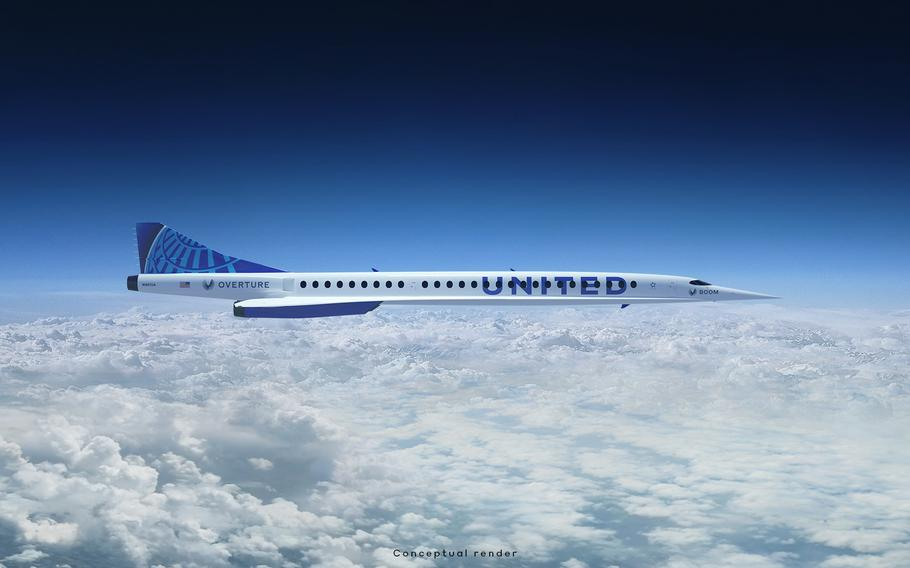 United Airlines announced Thursday it will buy 15 planes from Denver-based Boom Supersonic. The company's planes have yet to be approved or built.