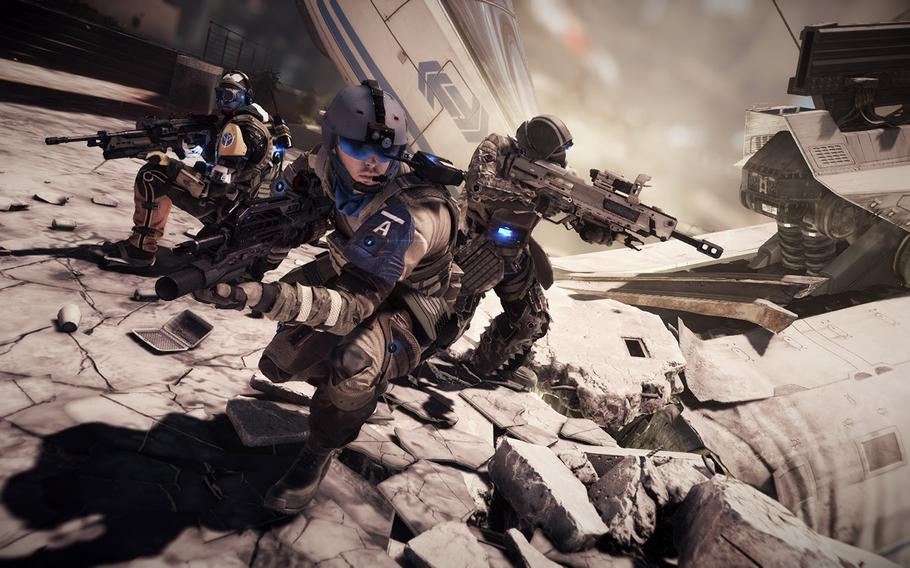"""One of the big PS4 exclusives is """"Killzone Shadow Fall,"""" the latest in a string of second-tier sci-fi shooters."""