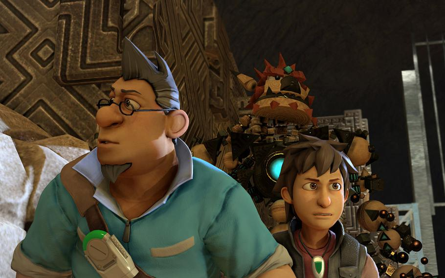 """""""Knack"""" is a new adventure franchise involving a morphing robotic creation."""