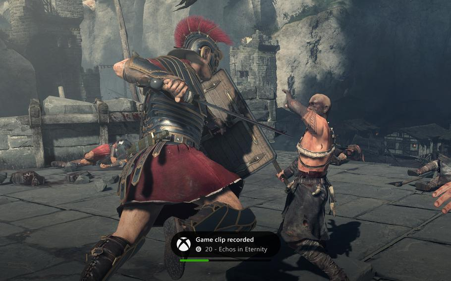 """Archers in """"Ryse: Son of Rome"""" will launch a volley of arrows on your command, whether issued by button or by voice."""