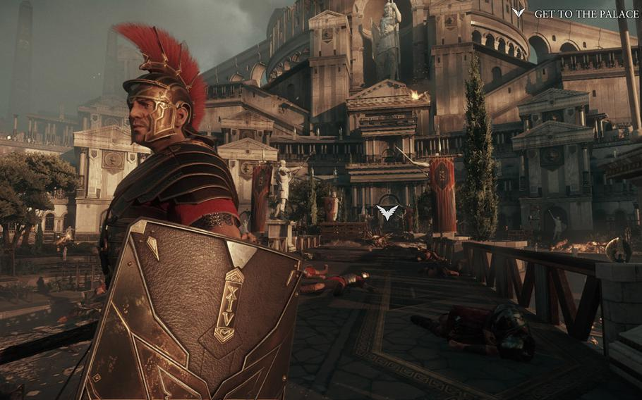 """""""Ryse: Son of Rome"""" delivers stellar graphics and an interesting story, but can get bogged down by repetitive gameplay."""