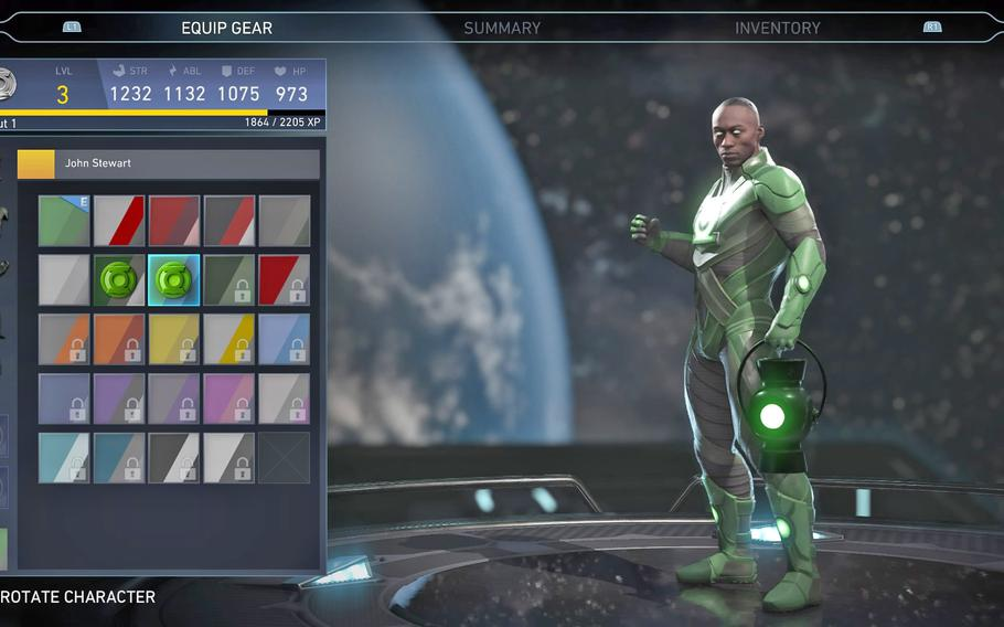 """Tons of unlockable customization options ensures """"Injustice 2"""" has plenty of content outside the core fighting."""