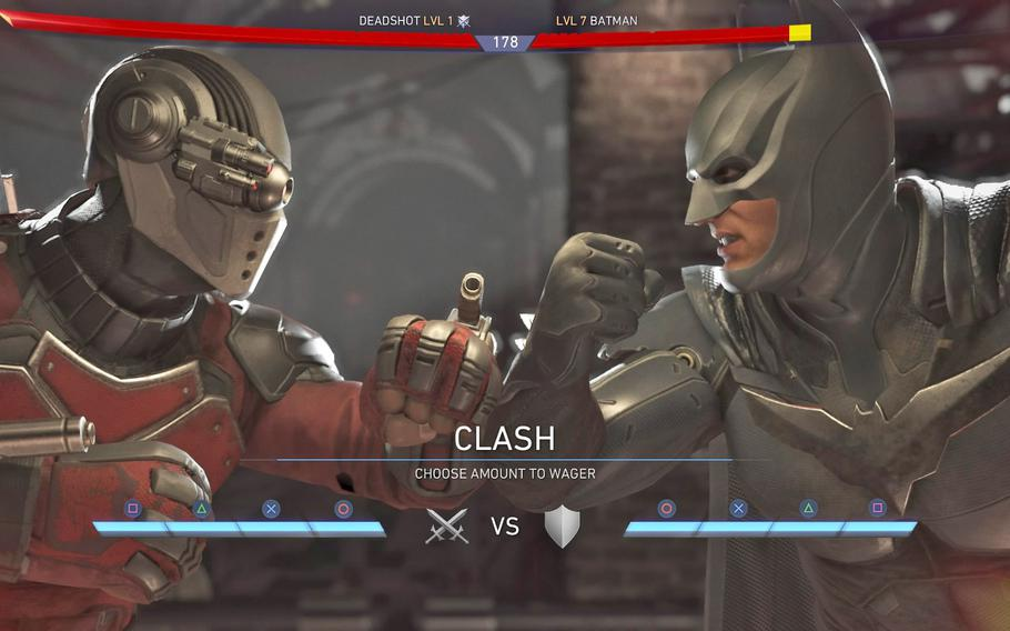 """The controversial clash mechanic is back in the sequel to 2013's """"Injustice: Gods Among Us."""""""