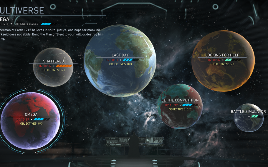 The multiverse single-player mode offers a series of challenges that refresh over time, offering up a nearly limitless amount of entertainment.