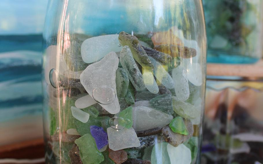 Despite their no doubt humble beginnings, chunks of sea glass can be prized possessions.