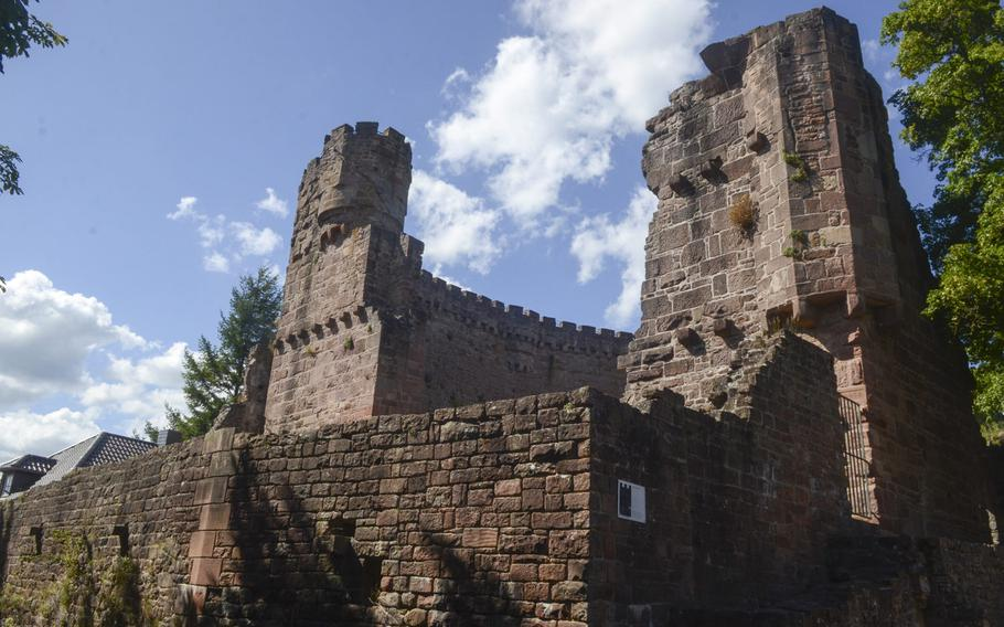The ruins of Dilsberg Fortress, located just outside Heidelberg in the town of Neckargemuend, date from the 12th century. Though most of the fortress has fallen into disrepair, a hexagonal tower has been rebuilt, giving stunning views of the surrounding countryside.