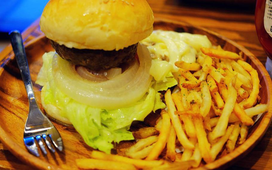 Doo Wop Diner Yokosuka E.M. Club opened its doors this summer offering a simple menu that includes reguar, chili-cheese, avocado and teriyaki burgers among its offerings.