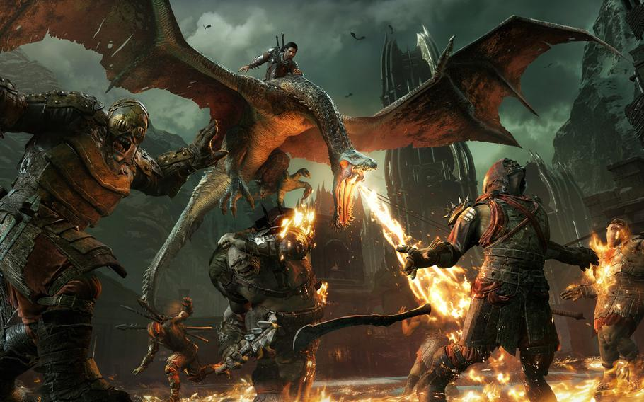 """""""Middle-earth: Shadow of War"""" is a playground of intense and emergent action scenes shaped by your choices and triumphs."""