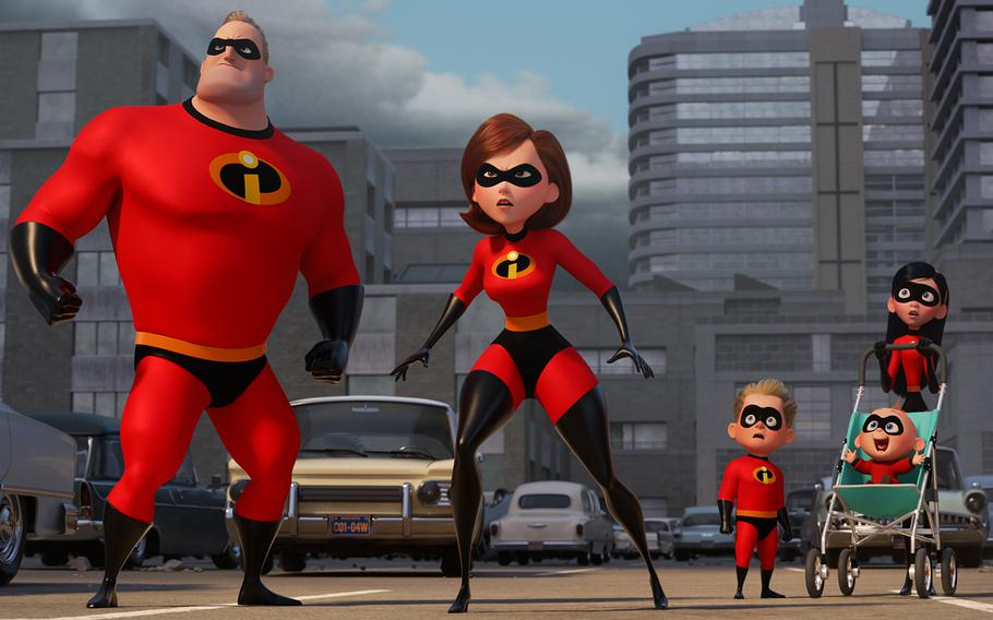 """""""Incredibles 2"""" opens in U.S. theaters on June 15, 2018."""