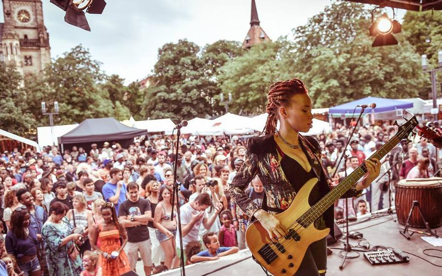Stuttgart, Germany, celebrates the vibrancy of the cultures of Africa with a program of music, dance, workshops, fashion shows, market stalls and food specialties.