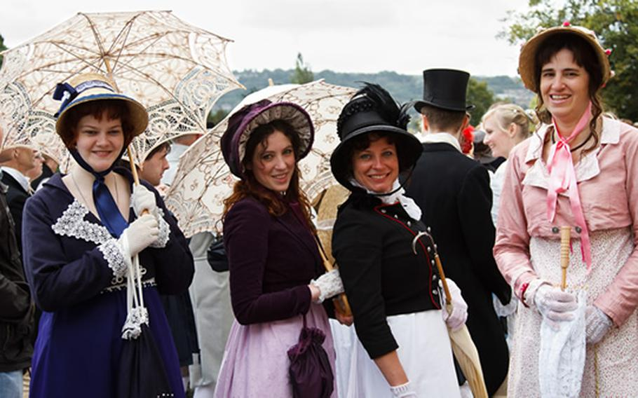 """Revelers will don their best Regency period clothing to celebrate the Jane Austen Festival in Bath, England. More than 80 events will take place Sept. 14-23 as the festival, in its 18th edition, celebrates the novel """"Persuasion."""""""