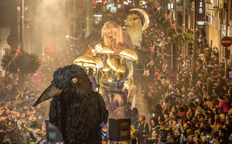 One of the highlights of the Bram Stoker Festival in Dublin, Ireland, is the Macnas nighttime parade. The festival runs from Oct. 26-29, and the parade begins at 7 p.m. Oct. 29.