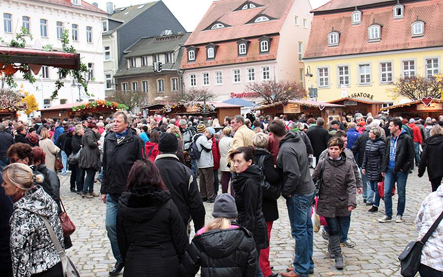 Pulsnitz, Germany, will celebrate everything gingerbread at the pfefferkuchenmarkt this weekend.