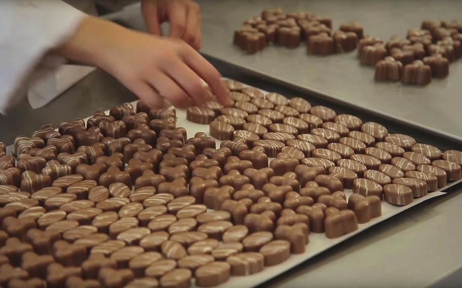 The Ciccioshow in Bologna, Italy, celebrates artisanal chocolate Nov. 15-18.