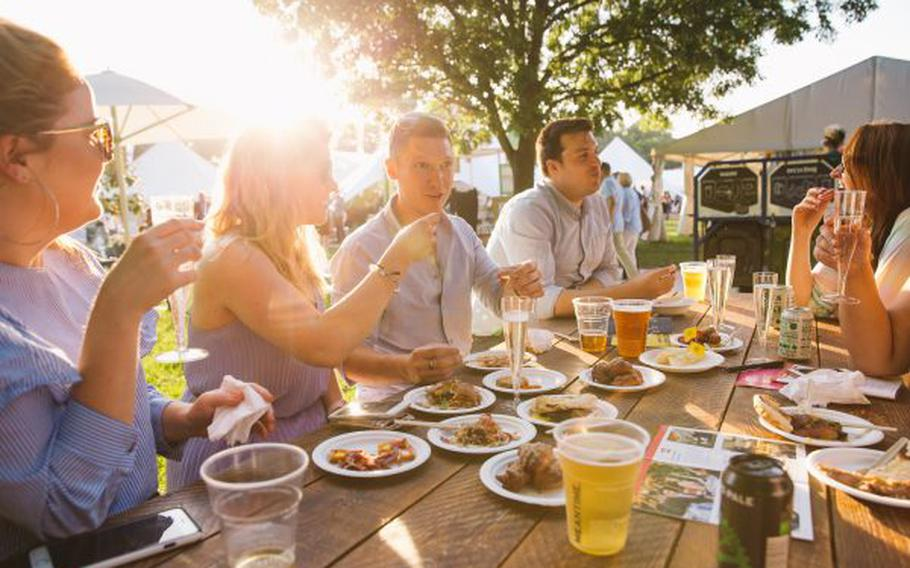 Taste of London offers visitors their pick of restaurant dishes, artisan stalls to browse and many other attractions to enjoy. This year's event takes place Nov. 15-18.