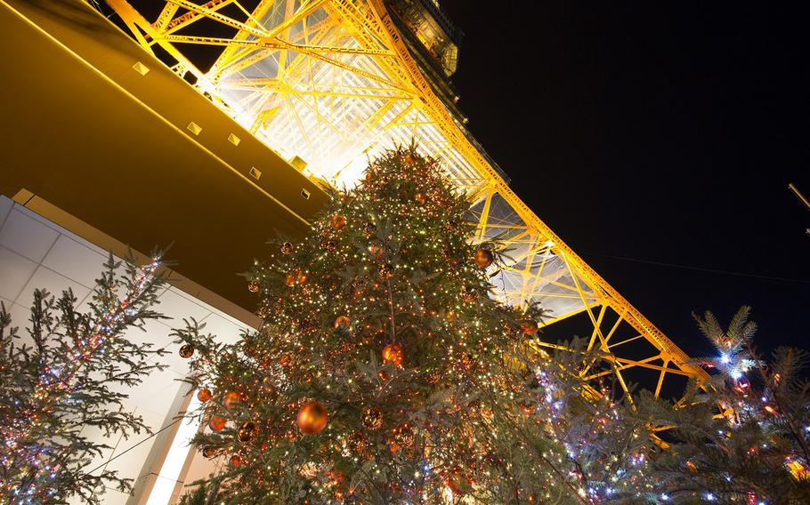 Tokyo Tower commemorates its 60th anniversary this year. Celebrations will include a 46-foot-high 60-year-old living fir tree with orange-colored LED lights at 1st floor front-gate Square. A 10-minute lighting show will be synced to music every 30 minutes until 10 p.m