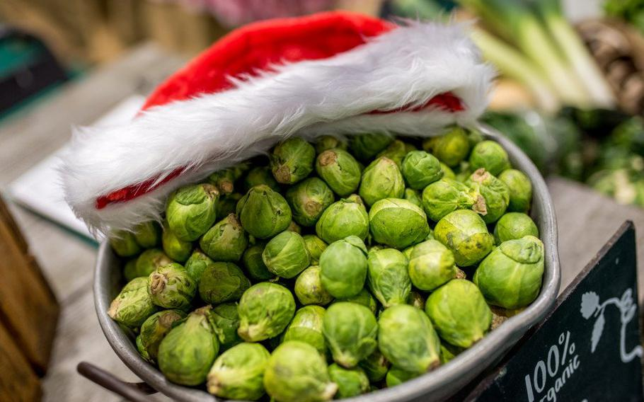 Even Brussels sprouts are celebrated at the BBC Good Food Show, where top chefs and bakers offer live demos and vendors aplenty have tempting gadgets and goodies for sale. The event takes place in Birmingham, England, Nov. 29-Dec. 2.