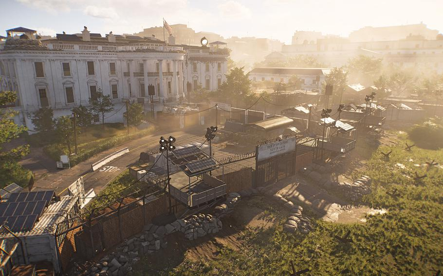 """In """"Tom Clancy's The Division 2,"""" players use the White House as a base of operations as agents to take back the capital."""