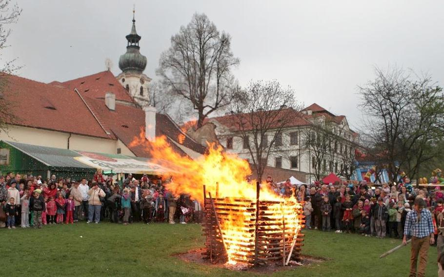 Witches' Night celebrations will take place all over the Czech Republic on April 30.