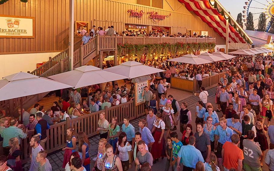 The Gaeubodenvolksfest, a traditional folk festival in Straubing, Germany, is billed is Bavaria's second biggest event of its kind. It takes place Aug. 9-19.
