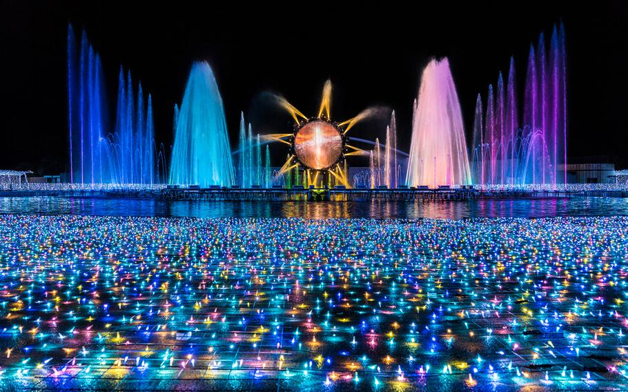 """Yomiuriland Jewellumination lights up the night in Tokyo Oct. 24-May. 6, from 4-8:30 p.m. The theme of this year is """"Jewelry Olympos."""""""
