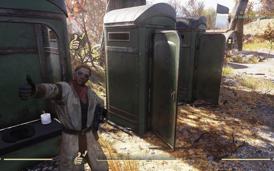 Toilet paper is almost as prized in Fallout 76: Wastelanders as it is in today's topsy-turvy pandemic world.