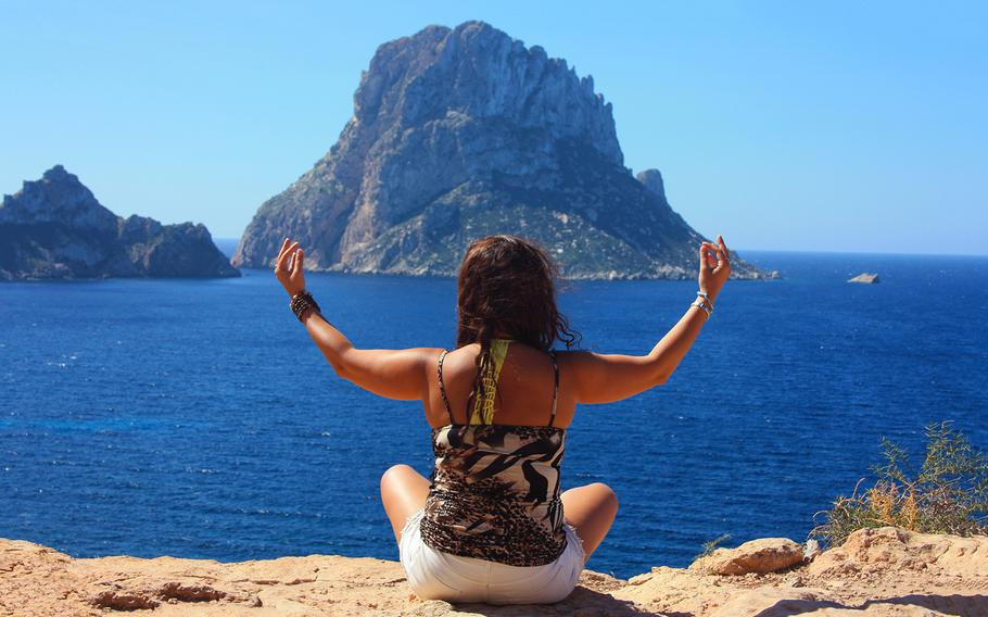 Yoga in Spain is a healthful vacation option.