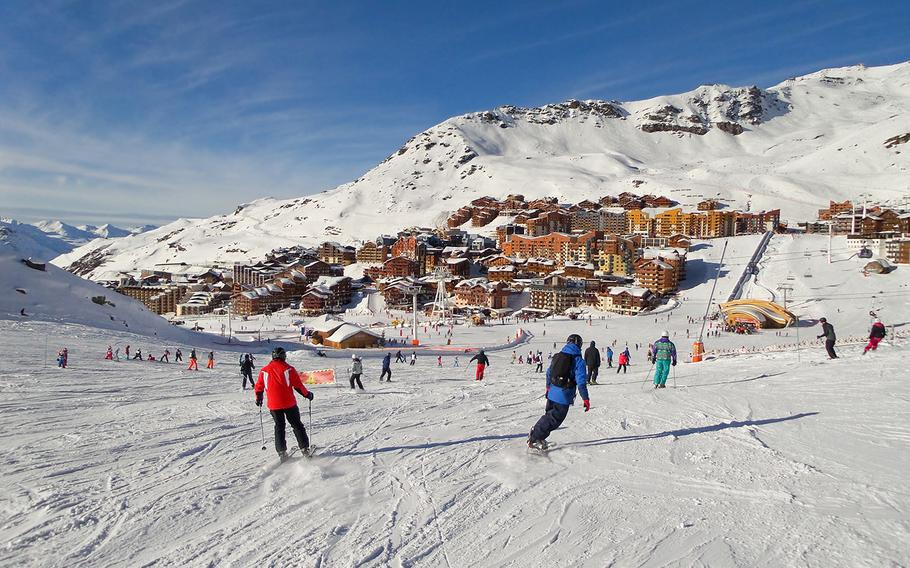 At the 3 Vallees ski area in France, 370 miles of pistes await.