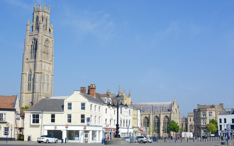 The St. Botolph church in the middle of the English city of Boston in Lincolnshire affords some lovely views.
