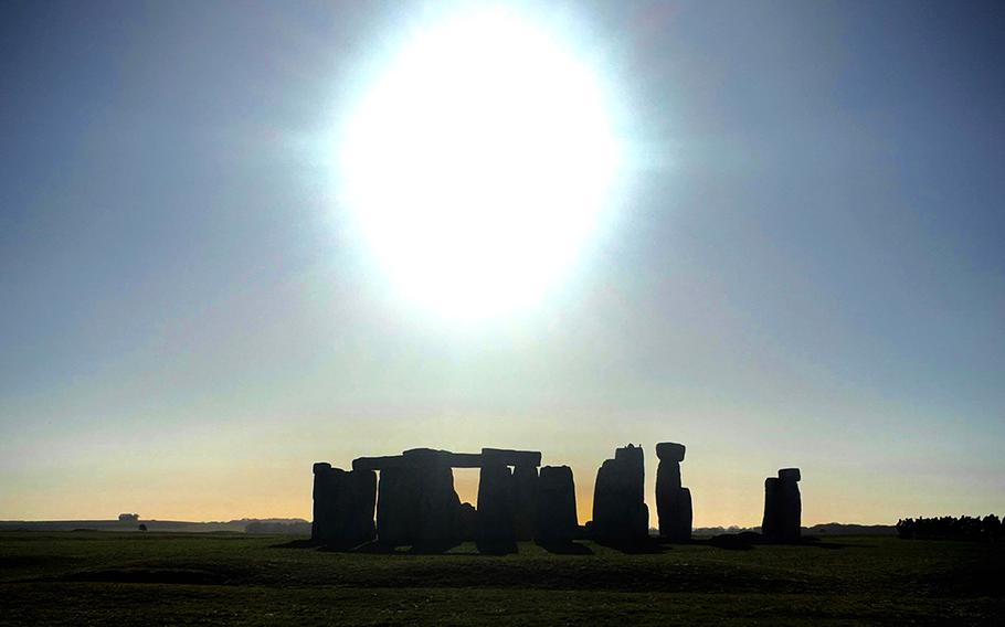 A livestream from England's Stonehenge, shown here in winter, will be available Dec. 21 since a public gathering at the ancient site will not be permitted this year.