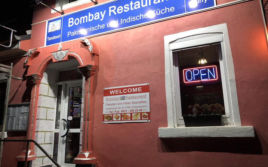 Bombay Restaurant has easy access from the A6 autobahn, and the parking lot is huge. The restaurant is large and decorated with Indian decor.