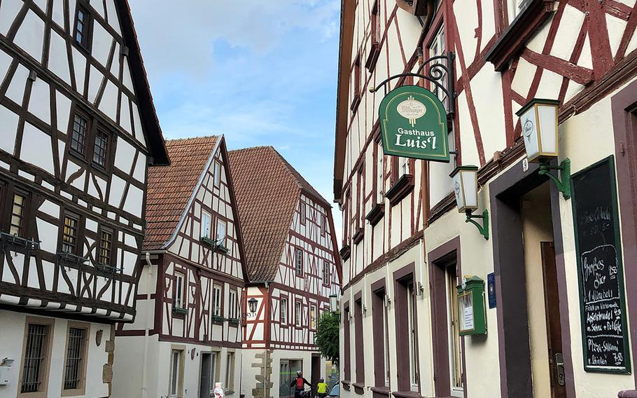 Meisenheim's half-timbered buildings give the town, first chartered in 1315, the feel of an open-air museum.