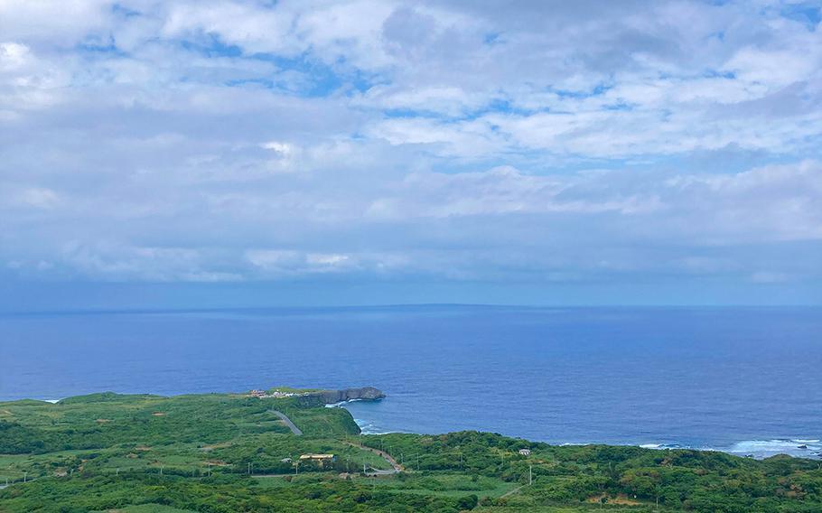 Soak in amazing views from the top of the Churaumi Ocean trail at Yanbaru National Park Daisekirinzan in northern Okinawa.
