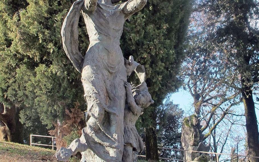 A small park across from the Santuario della Madonna di Monte Berico honors mothers and the Alpini, the Italian Army's mountain troops known for their exploits in World War I.