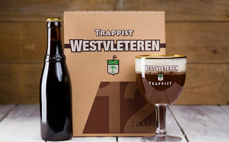 Much sought-after Westvleteren Trappist Beer is brewed at the St. Sixtus Abbey by monks in Belgium.