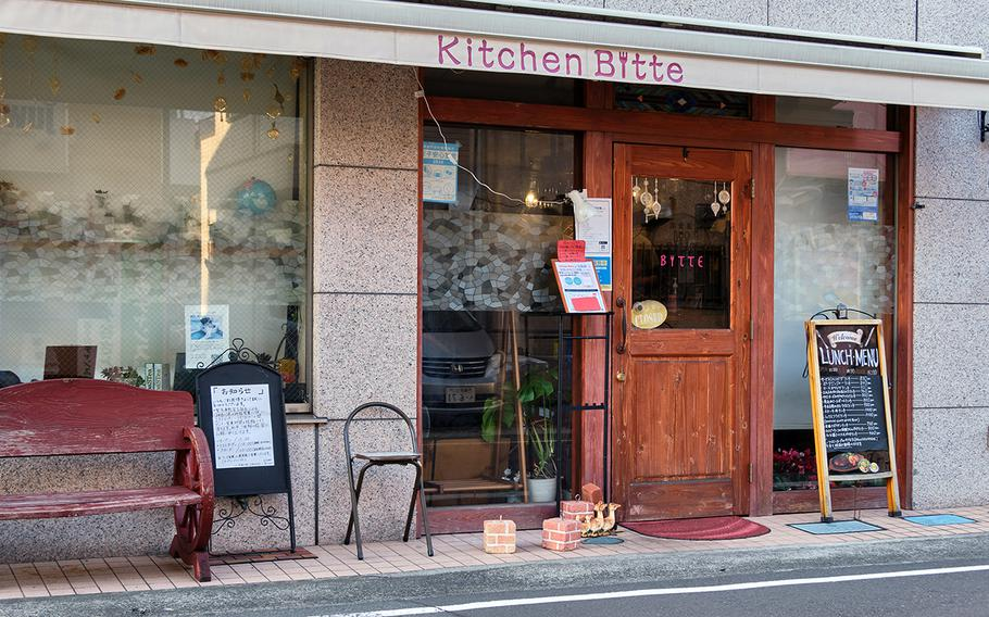 Kitchen Bitte is the lone Western-style restaurant in the tranquil town of Higashi Zushi, Japan, which is not far from Yokosuka Naval Base.