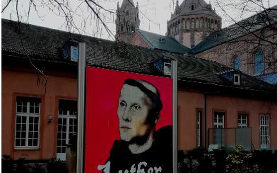 Worms, Germany, is set to celebrate Martin Luther this spring.