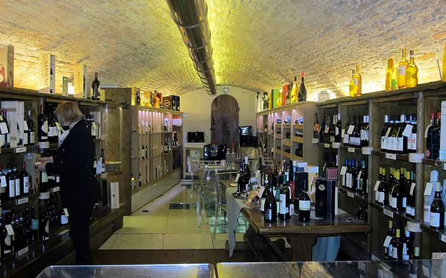Il Ceppo in Vicenza has a wine cellar that also serves as its restaurant. It's closed because of COVID-19 restrictions, but proprietors hope to reopen in the next few weeks.