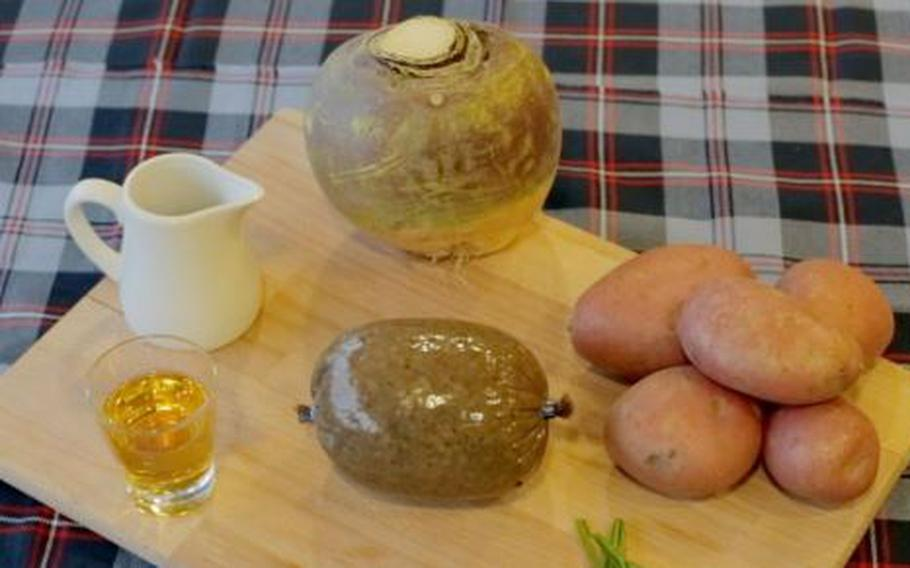 Burns Night in Scotland takes place on the anniversary of Robert Burns' Jan. 25 birthdate. It is marked with the traditional Burns Supper, which includes a hearty feast of haggis, neeps and tatties, the reciting of Burns' poems and songs, and many drams of whisky.