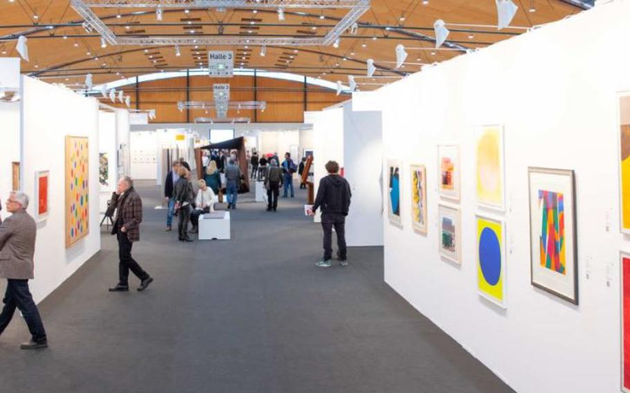 Art KARLSRUHE takes place Feb. 13-16 in Rheinstetten, Germany. Classic modern and contemporary art works are shown are sold at this fair, which this year focuses on three-dimensional art.