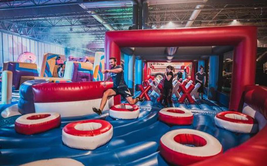 The Monster provides lots of bouncy, boozy fun for grown-ups in Birmingham, England, Aug. 16-20.