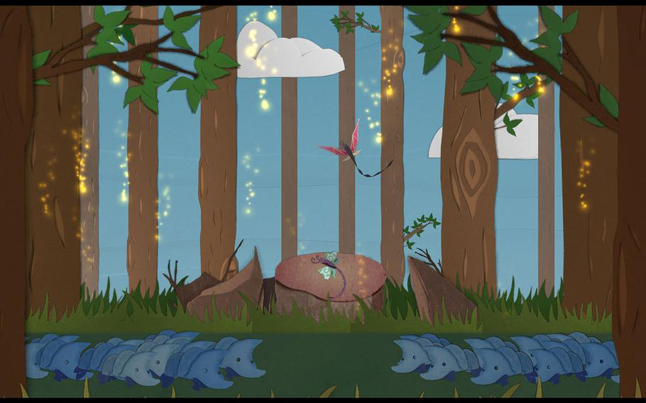 """""""Ephemerid: A Musical Adventure"""" is a charming rhythm game based around the life and adventures of a humble little mayfly."""