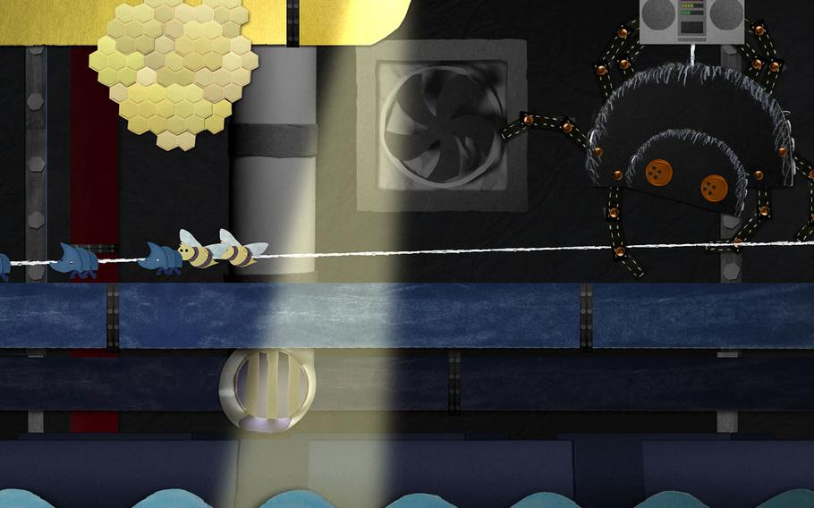 """The adorable art style of """"Ephemerid: A Musical Adventure"""" hides some pretty dark moments."""