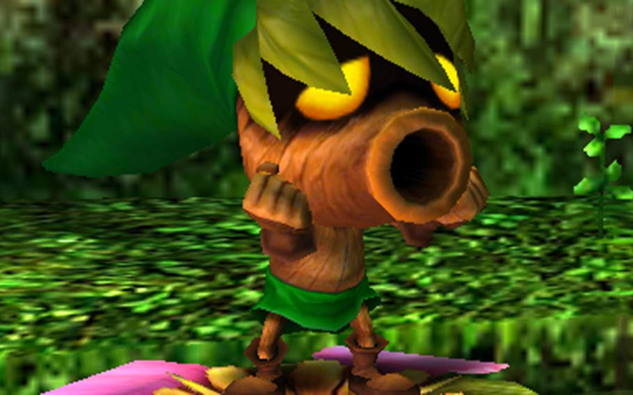 """""""Majora's Mask"""" centers around the collection of a wide variety of masks, each giving Link a new ability, and sometimes completely changing what he can do."""